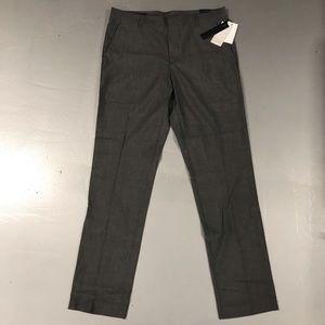 Perry Ellis Gray Slim Fit Dress Pants 32x32